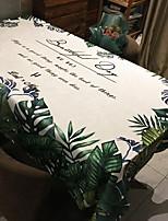 economico -Moderno Poliestere elastico lavorato a maglia 100g / m2 Quadrato Tovaglie Fantasia geometrica Decorazioni da tavola 1 pcs