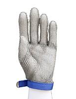 Недорогие -51001-l высококачественная нержавеющая сталь сетчатый нож режущая защитная кольчужная защитная перчатка