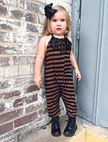 economico -Bambino / Bambino (1-4 anni) Da ragazza Tinta unita Senza maniche / Manica lunga Salopette e tuta