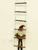 Недорогие -Рождественские украшения Праздник Ткань Квадратный Оригинальные Рождественские украшения