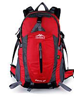 cheap -50 L Rucksack - Wearable, Breathability Outdoor Hiking, Climbing, Ski Nylon Red, Green, Blue
