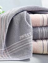 Недорогие -Высшее качество Полотенца для мытья, Геометрический принт Полиэстер / Хлопок Ванная комната 1 pcs