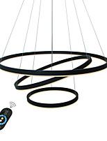 preiswerte -UMEI™ Kreisförmig / Geometrisch / Neuartige Kronleuchter Raumbeleuchtung - Kreativ, Verstellbar, Abblendbar, 110-120V / 220-240V, Wärm Weiß / Weiß / Dimmbar mit Fernbedienung, LED-Lichtquelle