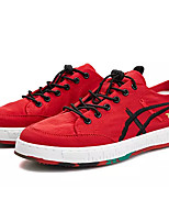 cheap -Men's Canvas Summer Comfort Sneakers Black / Red
