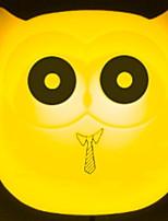 Недорогие -1шт Розетка Настенный светильник Синий / Желтый / Розовый DC Powered Очаровательный / Креатив / прикроватный 220-240 V