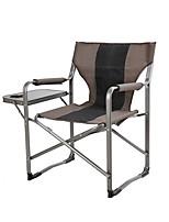 cheap -BEAR SYMBOL Camping Folding Chair Outdoor Anti-Slip, Folding Oxford Cloth, Aluminium Alloy for Fishing / Camping - 1 person Coffee
