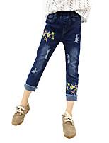 economico -Bambino Da ragazza Tinta unita Jeans