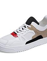 cheap -Men's Mesh / Synthetics Summer Comfort Sneakers White / Black / Yellow