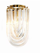 Недорогие -QIHengZhaoMing Хрусталь LED / Модерн Настенные светильники кафе / Офис Металл настенный светильник 110-120Вольт / 220-240Вольт 10 W