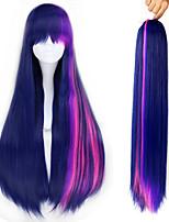 Недорогие -Косплэй парики Косплей Косплей Аниме Косплэй парики 28 дюймовый Термостойкое волокно Все Хэллоуин парики