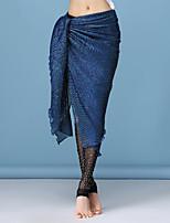abordables -Danza del Vientre Pantalones y Faldas Mujer Rendimiento Licra / Terileno Fruncido Cintura Baja Faldas