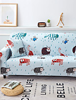 cheap -Sofa Cover Multi Color Reactive Print Polyester Slipcovers