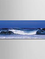 cheap -Print Rolled Canvas Prints - Beach Theme / Photographic Modern