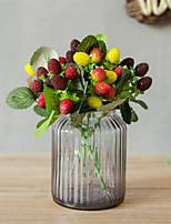 Недорогие -Искусственные Цветы 1 Филиал Классический Модерн / Пастораль Стиль Фрукты Букеты на стол