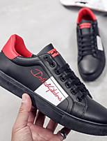 Недорогие -Муж. Комфортная обувь Полиуретан Весна & осень На каждый день Кеды Белый / Черный / Красный