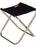 cheap -Camping Stool Outdoor Folding Nylon, Aluminium alloy for Hiking / Camping - 1 person Green / Black