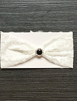 cheap -Lace Wedding / Lace Wedding Garter With Rhinestone Garters Wedding / Special Occasion