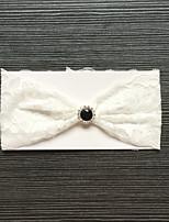 baratos -Renda Casamento / De Renda Wedding Garter Com Pedrarias Ligas Casamento / Ocasião Especial