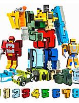 Недорогие -Конструкторы 1 pcs Воин Компактный дизайн Декомпрессионные игрушки Мальчики Девочки Игрушки Подарок