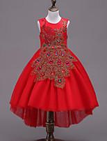 cheap -Kids Girls' Patchwork Sleeveless Dress