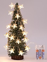 cheap -LED Star String Lights Garland for Christmas Wedding Home Decoration