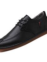 cheap -Men's Cowhide Fall Comfort Sneakers Black / Gray
