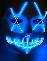 cheap -Holiday Decorations Halloween Decorations Halloween Masks Decorative / Cool Blue 1pc