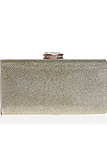 cheap -Women's Bags Polyester / Alloy Evening Bag Crystals / Solid Gold / Silver