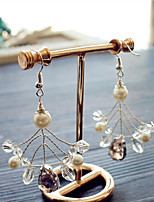 cheap -Women's Stylish Drop Earrings - Stylish Silver For Wedding / Party / Evening