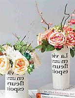 Недорогие -Искусственные Цветы 6 Филиал Классический европейский / Свадебные цветы Розы / Ромашки Букеты на стол