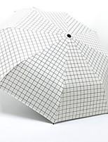 Недорогие -Полиэстер / Нержавеющая сталь Жен. Новый дизайн Складные зонты