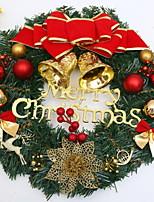 abordables -Guirnaldas Vacaciones PVC Redondo Novedades Decoración navideña