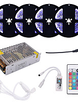 cheap -4x5M Light Sets / RGB Strip Lights 1200 LEDs 5050 SMD RGB Cuttable / Linkable / Self-adhesive 100-240 V
