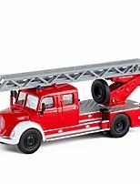 Недорогие -Игрушечные машинки Пожарная машина Пожарные машины Новый дизайн Металлический сплав Детские Для подростков Все Мальчики Девочки Игрушки Подарок 1 pcs