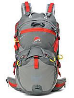 Недорогие -30 L Рюкзаки - Дожденепроницаемый, Пригодно для носки, Воздухопроницаемость На открытом воздухе Пешеходный туризм, Походы, Путешествия Красный, Синий, Серый