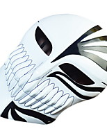 cheap -Holiday Decorations Halloween Decorations Halloween Masks / Halloween Entertaining Decorative / Cool Black Background and White Flower 1pc