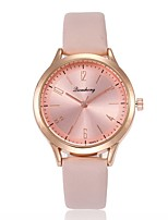 baratos -Mulheres Relógio Elegante / Relógio de Pulso Chinês Relógio Casual PU Banda Casual / Fashion Preta / Branco / Vermelho