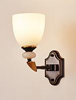economico -Moderno / Contemporaneo Lampade da parete Salotto Metallo Luce a muro 220-240V 40 W