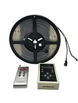 Недорогие -5 метров Гибкие светодиодные ленты 150 светодиоды SMD5050 RGB Самоклеющиеся 12 V 1шт