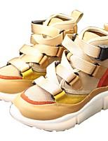 Недорогие -Мальчики Обувь Полотно Осень Удобная обувь Кеды для Белый / Миндальный