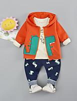 cheap -Kids Boys' Print Long Sleeve Clothing Set