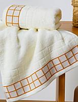 cheap -Superior Quality Bath Towel, Geometric 100% Cotton Bathroom 1 pcs