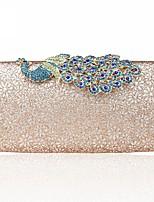 cheap -Women's Bags Alloy Evening Bag Buttons / Glitter Silver / Blushing Pink / Sky Blue