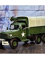 Недорогие -Игрушечные машинки Грузовик / Военная техника Транспортер грузовик моделирование / утонченный Железо Все Дети / Для подростков Подарок 1 pcs