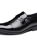 cheap -Men's Microfiber Spring &  Fall Comfort Loafers & Slip-Ons Black