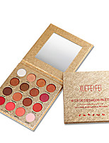 Недорогие -Makeup 16 цветов Тени Глаза / Тени для век прочный Водонепроницаемость Повседневный макияж / Макияж для вечеринки Составить косметический