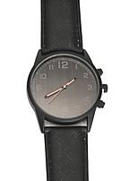 Недорогие -Муж. Спортивные часы Нарядные часы Японский Японский кварц 30 m Повседневные часы Cool PU Группа Аналоговый На каждый день Черный - Черный Один год Срок службы батареи