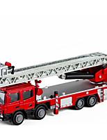 Недорогие -Игрушечные машинки Пожарная машина Пожарные машины Новый дизайн Металлический сплав Все Детские / Для подростков Подарок 1 pcs