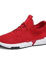 cheap -Men's Light Soles Mesh / Synthetics Summer Comfort Sneakers Black / Gray / Red