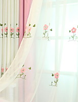 cheap -Sheer Curtains Shades Kids Room Geometric Polyester Reactive Print